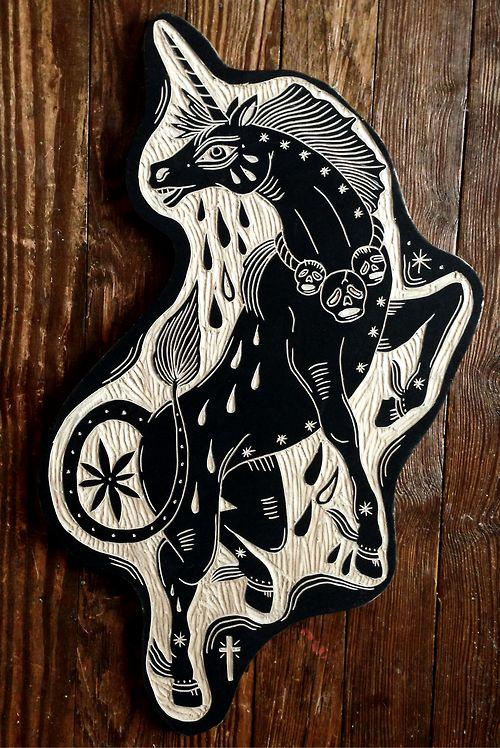 Unicorn. 2012 - Bryn Perrott