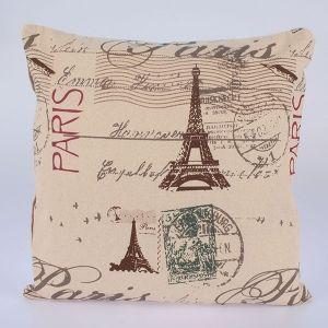 Povlak na polštář Eiffelovka