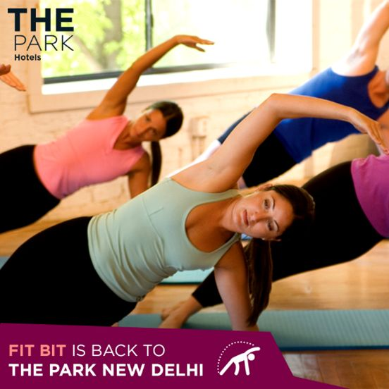 ‪#‎TheParkWay‬: Join us for three days of yoga coupled with the latest in cardio and fitness trends as FIT BIT comes to Aura at The Park New Delhi. On from May 18 – 20, please call for further queries: 011 23743000