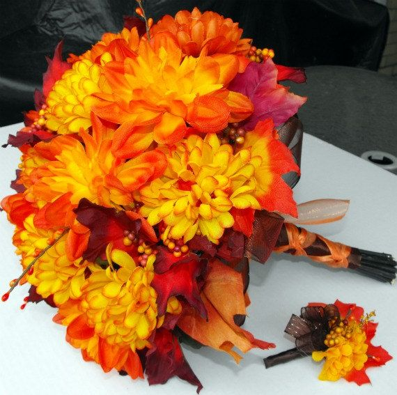 Fall Bouquet for your wedding day!
