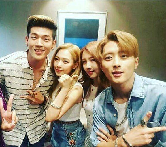 K.A.R.D- B.M, Somin, Jiwoo and J.Seph