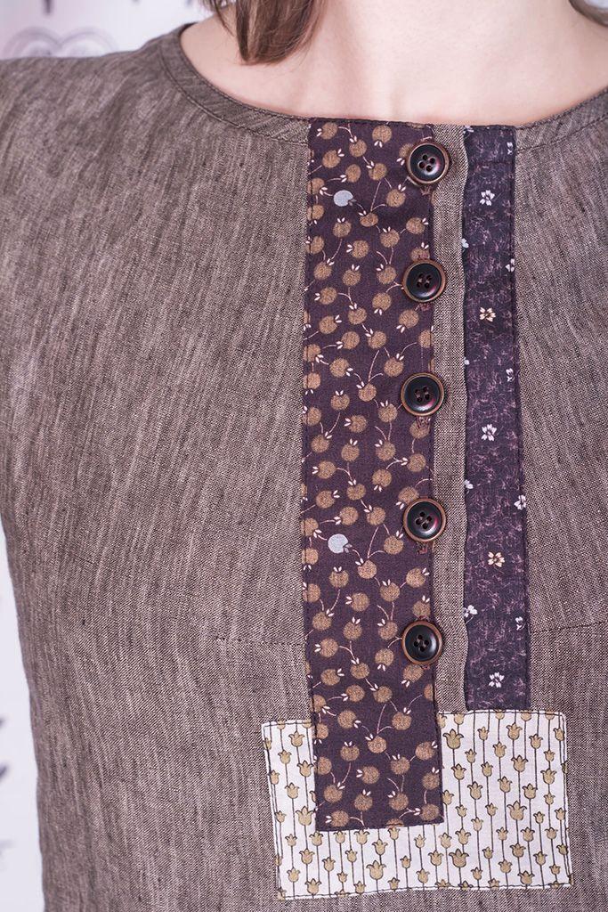 Льняные платья бохо от SomDress