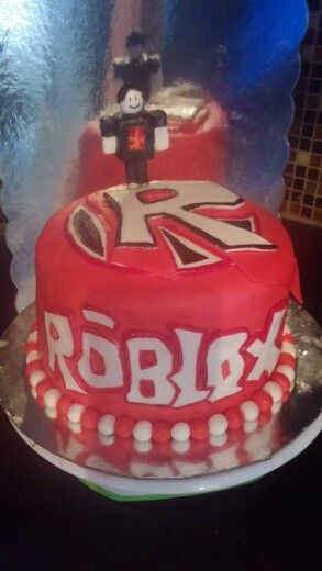 Roblox Cake I made for my son's 5th Birthday