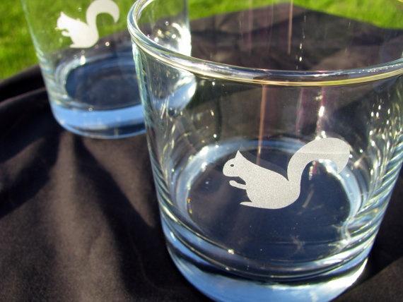 Squirrel glasses, yay!