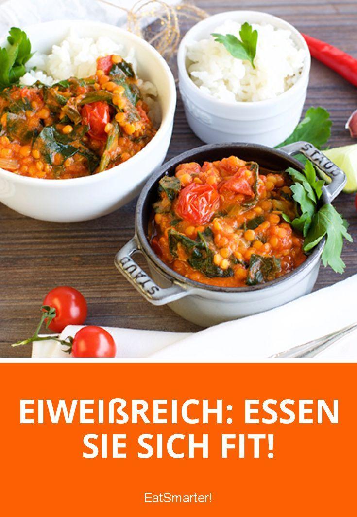 Eiweißreich: So isst du dich fit! | http://eatsmarter.de/blogs/clean-eating/eiweissreich-essen-sie-sich-fit