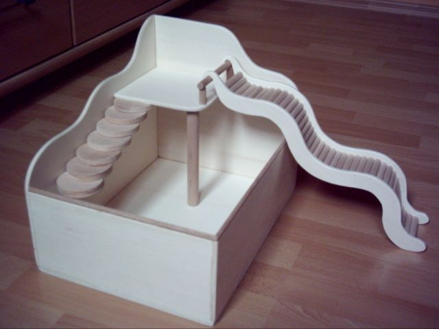 DIY - hamster playground
