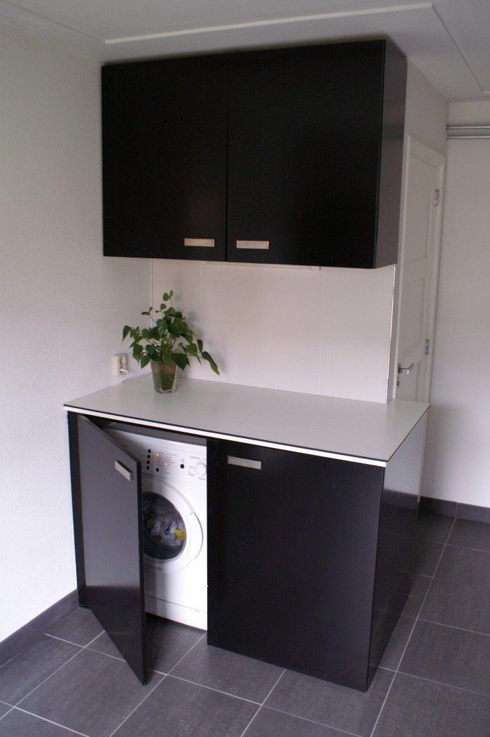 Mooie rustige oplossing voor wasmachine/droger