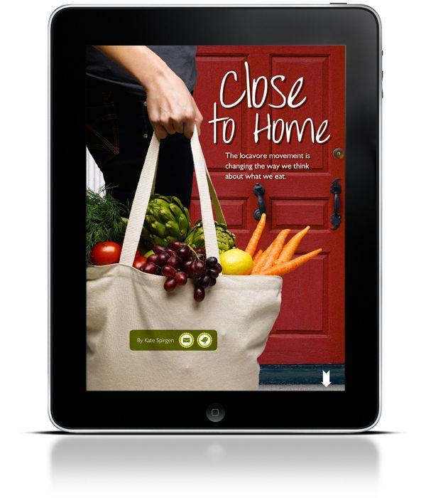 A Garden Life Magazine app by A Garden Life , via Behance