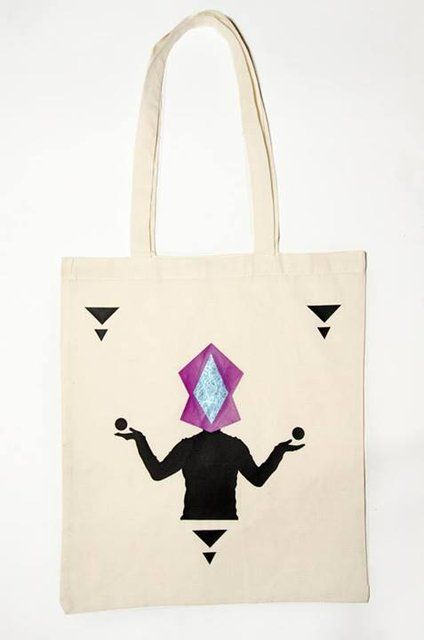 Ecru Tote Bag  Design : Mysterio