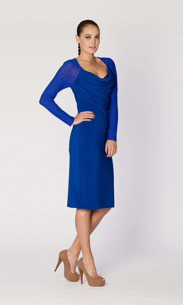 Leina Broughton Cocktail dress - perfect for a spring garden wedding, or a night out!