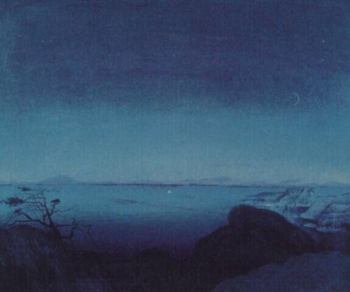 Andante, Harald Sohlberg - http://wp.me/p6qjkV-7PW #Art