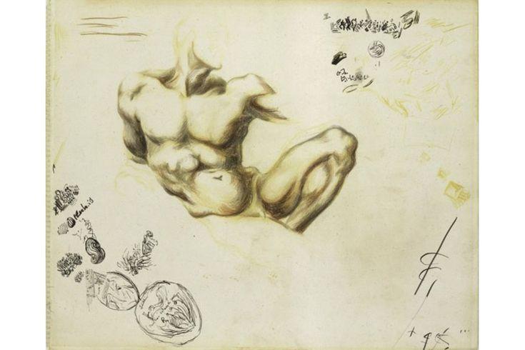 Jackson Pollock - Untitled (1937-1939)