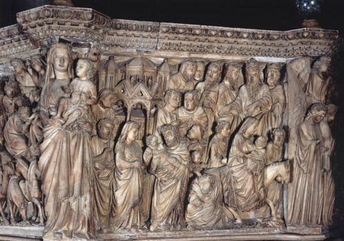 Ambone del Duomo di Siena (1265-1268) - Nicola Pisano - Particolare…