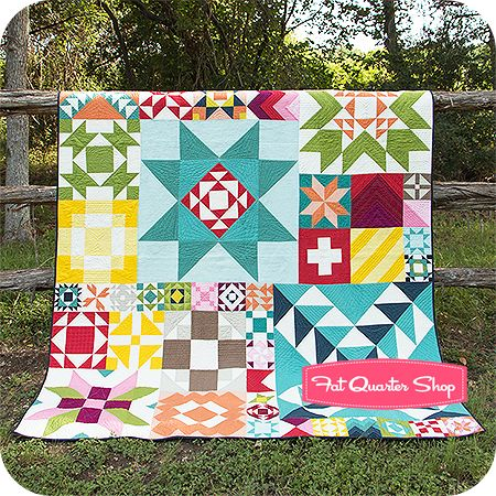 Modern Building Blocks by Moda Fabrics - Fat Quarter Shop