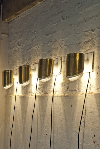 Retrouvius Wall Lights : 56 best painted brick walls images on Pinterest Brick fireplace wall, Fireplace ideas and ...