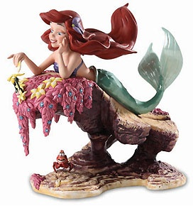 The Little Mermaid - Ariel and Sebastian - He Loves Me - He Loves Me Not - Walt Disney Classics Collection - World-Wide-Art.com - $350.00 #WDCC #Disney