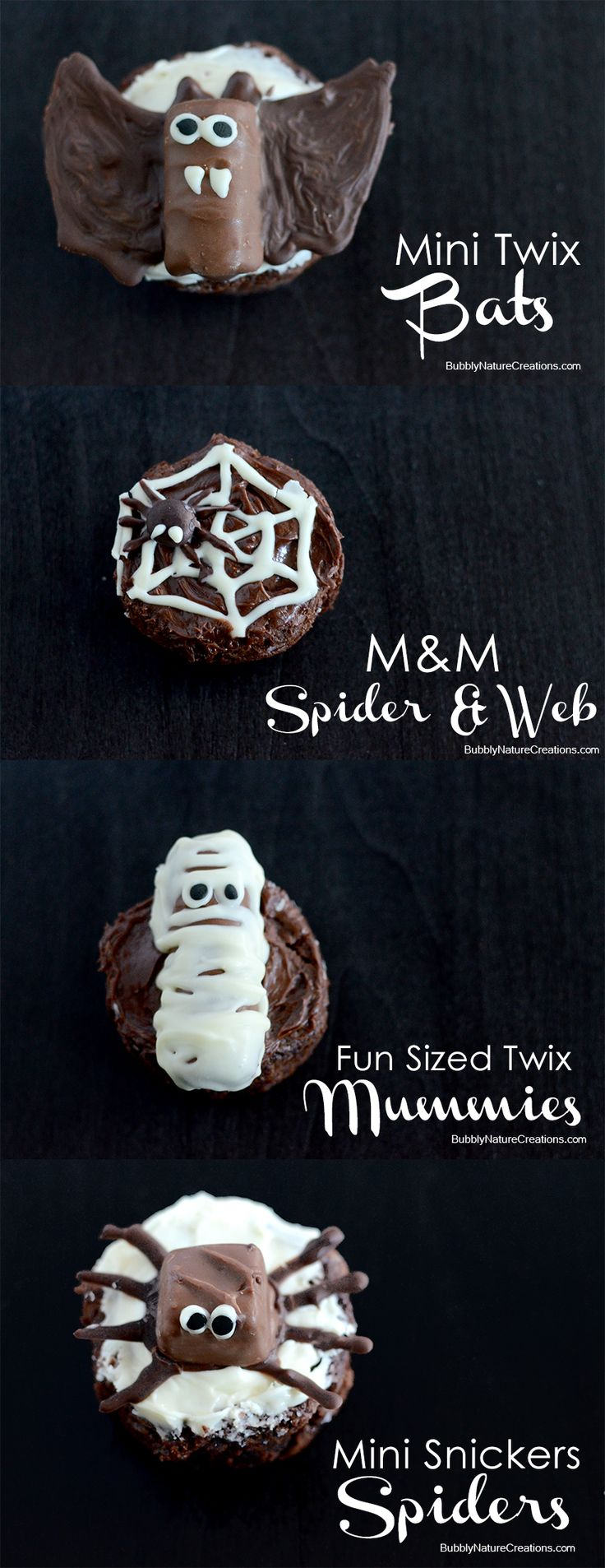 Cute DIY Spooky Celebration Ideas! These are all made with candy as the starting point... easy!  #shop #SpookyCelebration