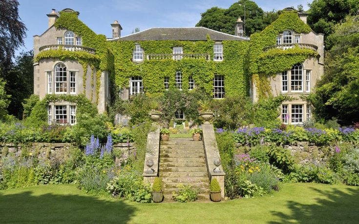 Burns Night idyllic Scottish homes for sale Gardens