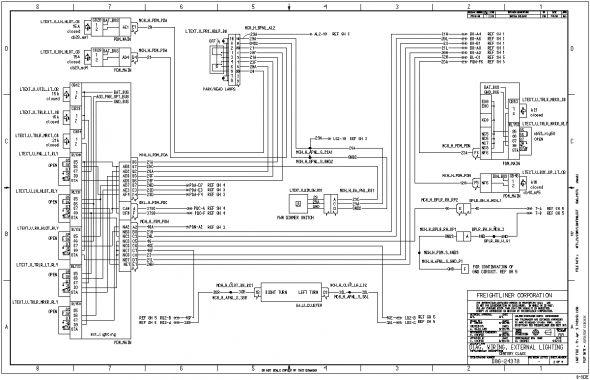 2006 Freightliner Electrical Wiring Diagrams