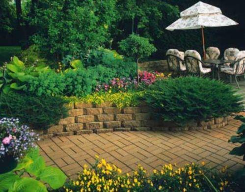 Stone flower beds of raised flower beds raised bed garden design building raised beds - Stone and flower garden design ideas ...