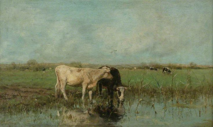 The Athenaeum - Cows at Pasture. Date unknown (Willem Maris - )