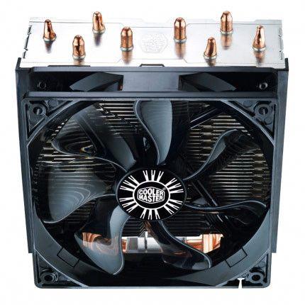 Performant et pas cher, le ventirad Cooler Master Hyper T4 sera un achat idéal pour intégrer une machine de milieu de gamme. Grâce à ses 4 caloducs à contact direct et son ventilateur PWM, ce ventilateur pour processeur offre de bonnes performances avec un fonctionnement silencieux.