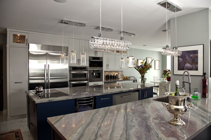 Modern Style Kitchen we completed in a condominium residence in Toronto, ON