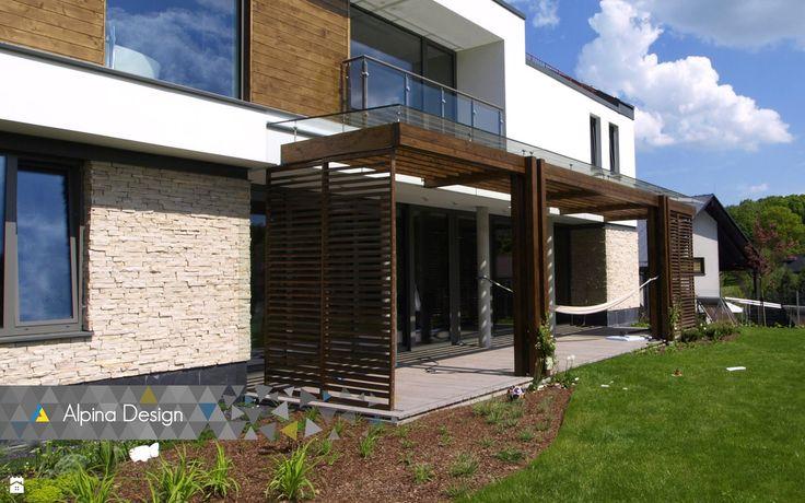 Ogród styl Nowoczesny - zdjęcie od Alpina Design Ogrody Zimowe & Szkło Architektoniczne - Ogród - Styl Nowoczesny - Alpina Design   Ogrody Zimowe & Szkło Architektoniczne