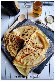 crêpes sans gluten réalisées à base de farine de sarrasin (sans gluten) et de lait de riz
