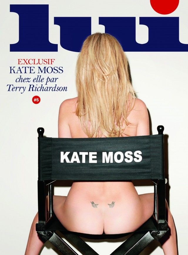 Kate Moss for Lui Magazine, Photo by Terry Richardson