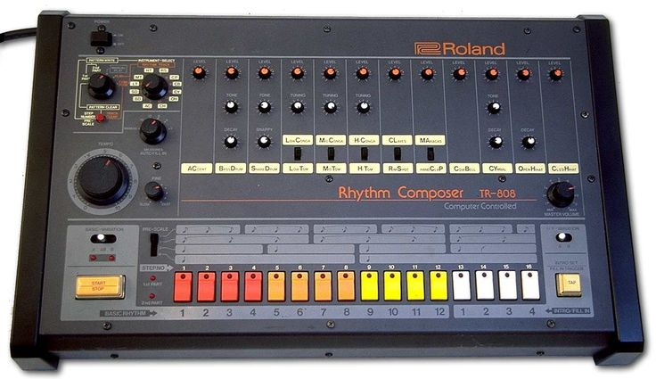 The Roland Tr-808 changed music history, yet half of it's avid users have never even seen one. #unbelievable