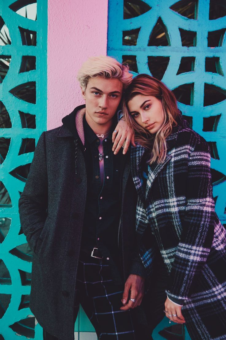 Explore the City of Angels with #HilfigerDenim, Hailey Baldwin and Lucky Blue Smith.