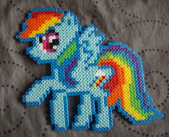My Little Pony Friendship is Magic Rainbow Dash Sprite by Miyuka