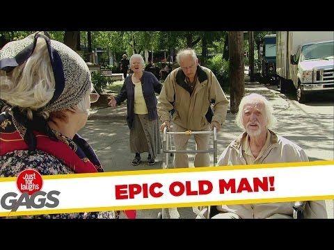 Old people's prank LOL
