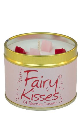 Lily Flame Fairy Kisses Tin Candle