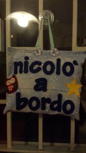 Nicolo' a bordo