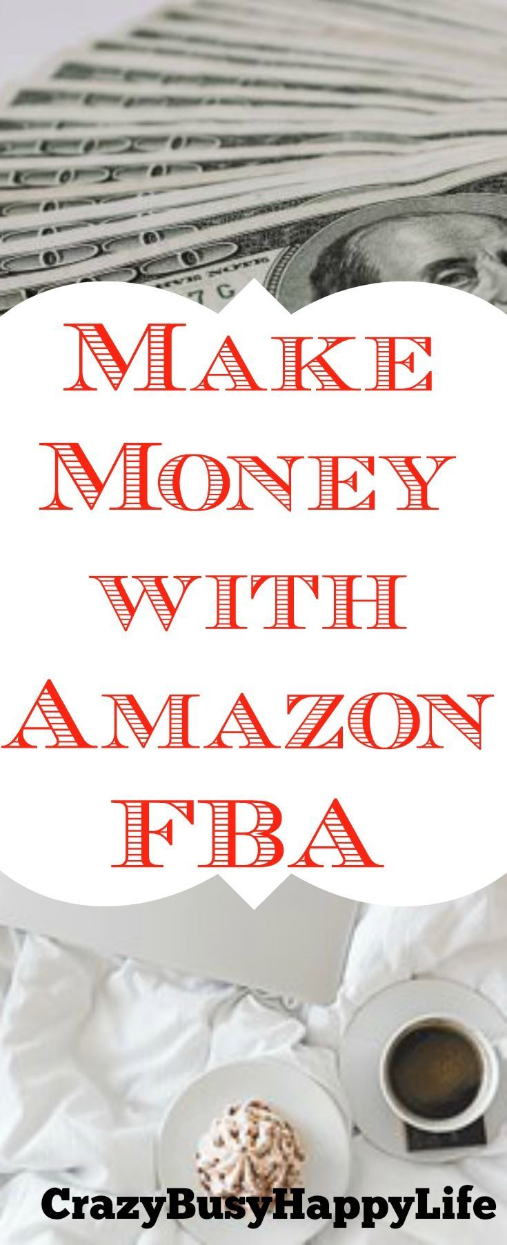 Selling with Amazon FBA is a great side hustle or way to make extra money. Here's how I sell on Amazon FBA. Click through to read more. Earn extra income, make more money, work from home, stay at home mom, work at home mom, WAHM, work-at-home jobs, internet jobs, ways to earn