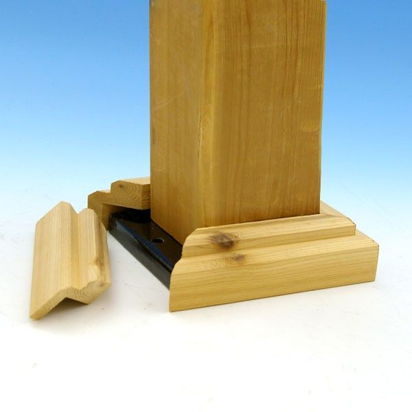 Wood Post Skirt Kits By Deckorators Great Outdoors