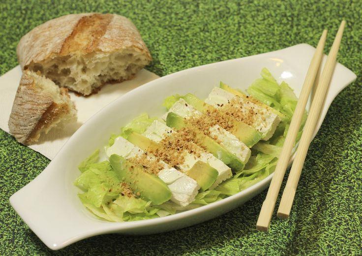 Recept -  Salade met avocado en feta