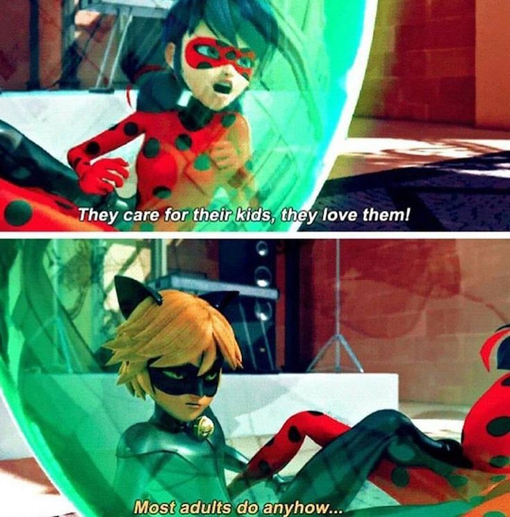 This seriously made me cry, poor Chat - { #miraculousladybug }