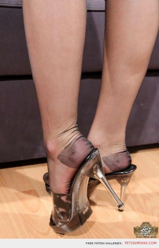 Sexy Stockinged Feet 105