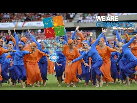 15th WORLD GYMNAESTRADA 2015 HELSINKI - Be part of the Gymnaestrada spirit! - YouTube