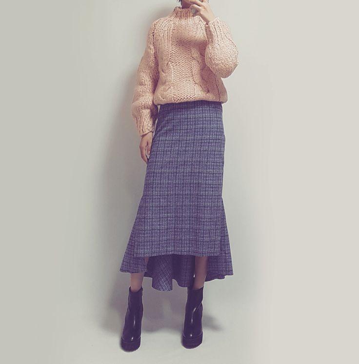 banetd 바냇디 korean shoppingmall naver storefarm  -- 2016fw fashion lookbook / mango-thread knit , mermaid long skirt