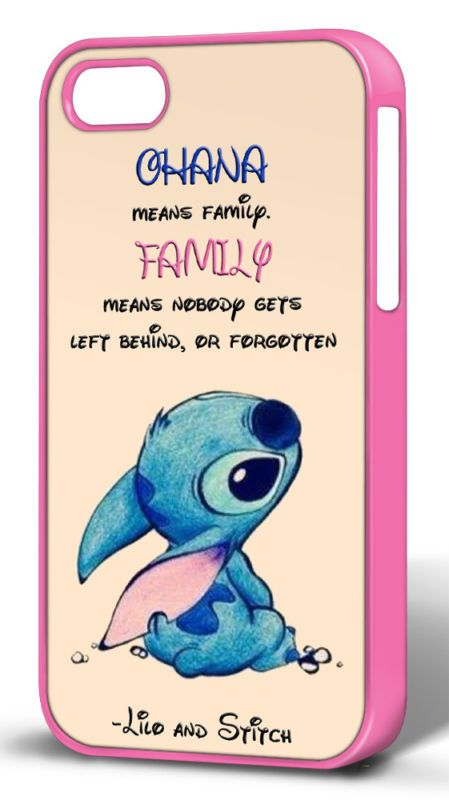 Disney Lilo and Stitch Quote Novelty Hard Case for iPhone 4/4s/5/5s/5c/6 | eBay