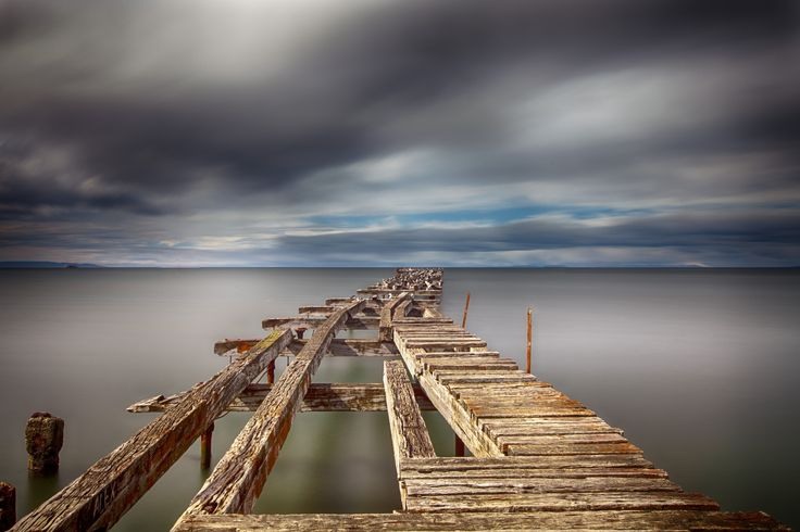 colored endless pier by Martine Guay on 500px