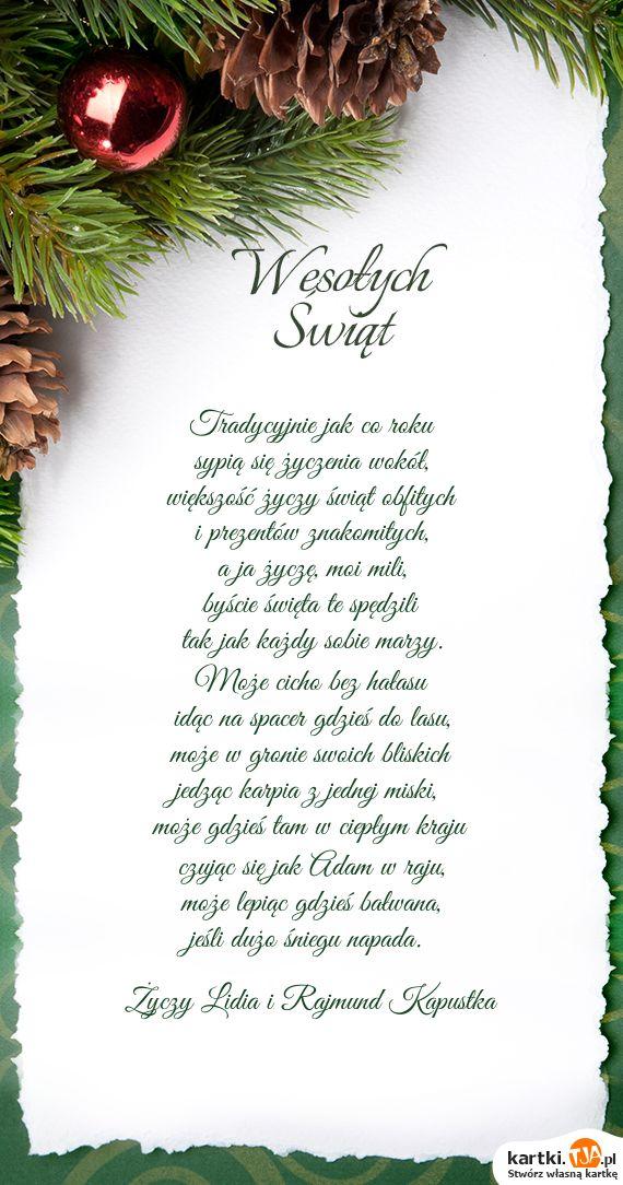 Boże Narodzenie..zyczenia