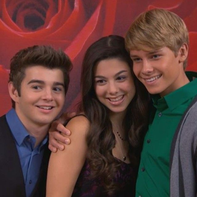 Kira Kosarin, Jack Griffo, and Logan Shroyer