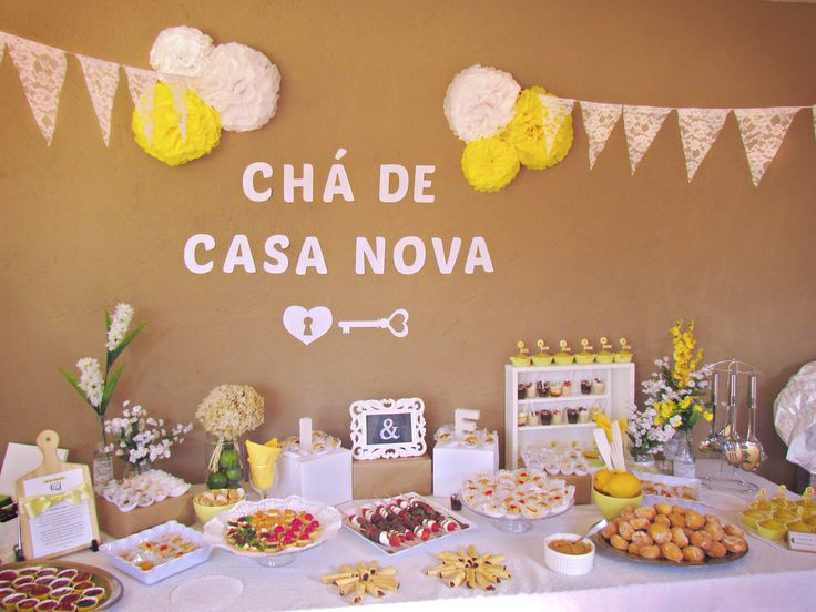 Chá de Casa Nova - Decoração / Bridal Shower Decor / Party Decor