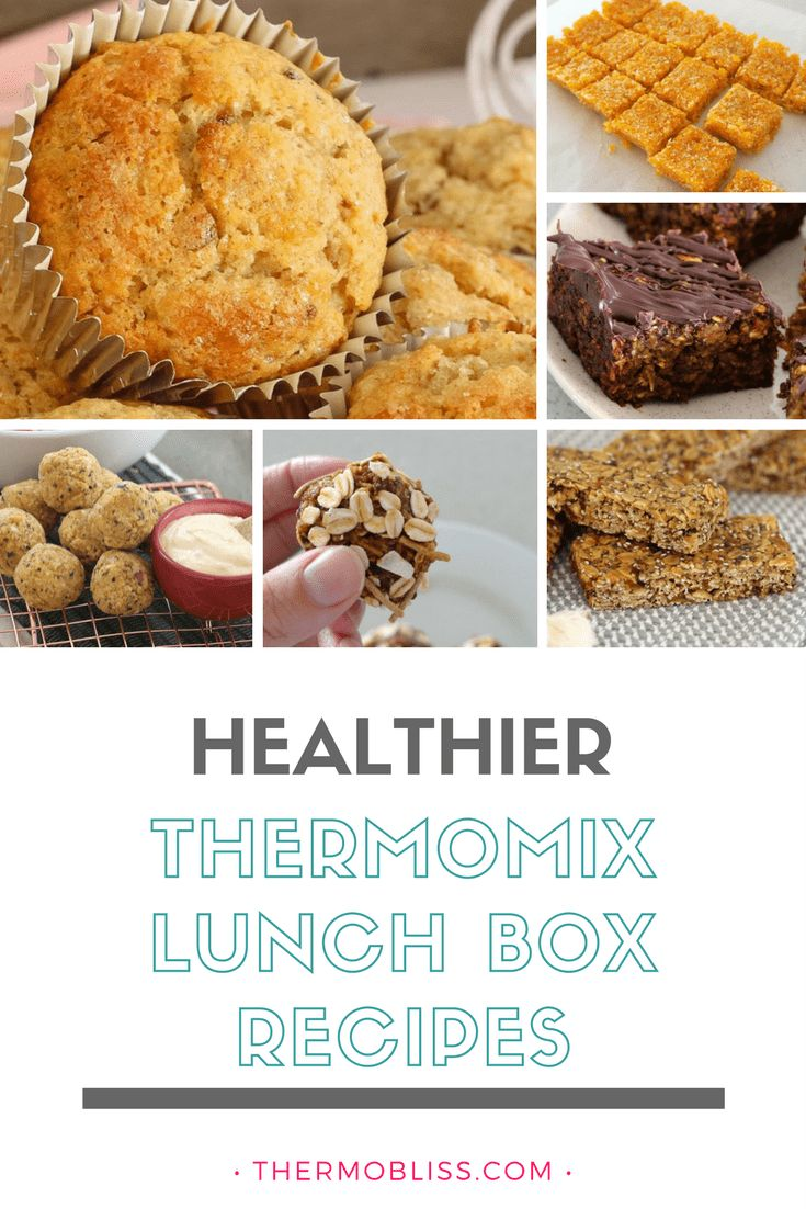 Healthier Thermomix Lunch Box Recipes