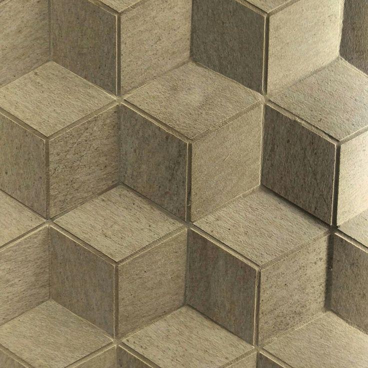 To nie iluzja! To płytki 3D!  #HOFF #salonhoff #kraków #ilovehoff #łazienka #łazienki #design #wystrojwnetrz #bathroom #bathroomdesign #płytki #tiles #3d #pomysł #ściana #cracow #nice #illusion
